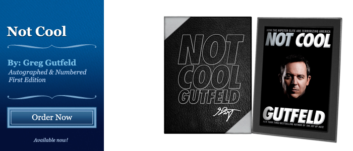 Not Cool - Signed by Greg Gutfeld
