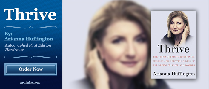 Thrive - Signed by Arianna Huffington
