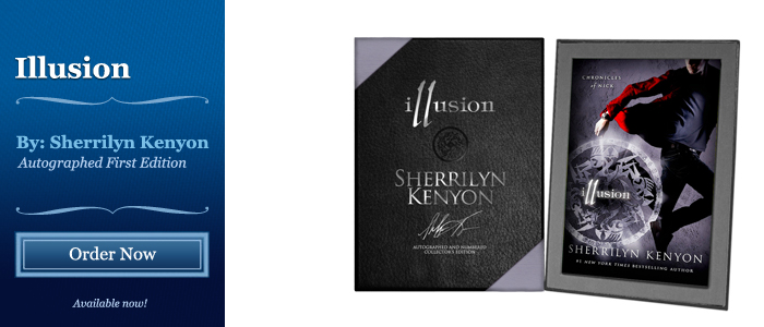 Illusion - Signed by Sherrilyn Kenyon
