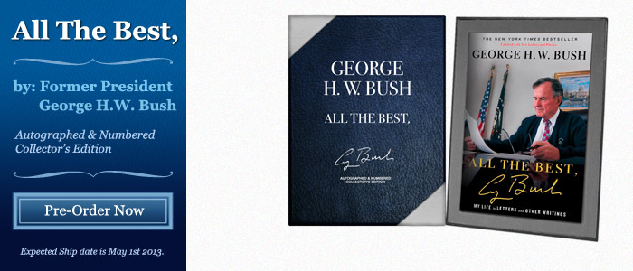 All the Best - Signed by President George H.W. Bush